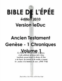 Bible de l'Épée 2010, Volume 1